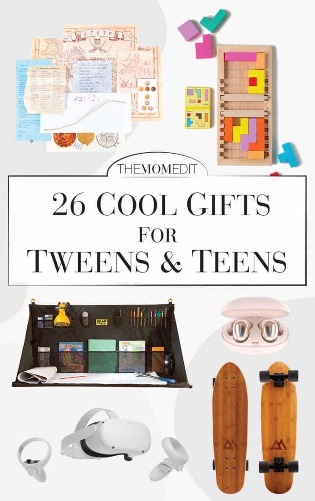 Mamas! It's the holiday shopping list we've all been waiting for, right? Cool gifts for teens, unique gifts for tweens —TME found 26. Presents they'll love...we hope.