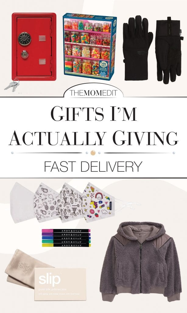 """We're shopping a FEW last-minute gifts. Think: thoughtful presents we personally own & love, or items we've gifted w/ success so that the panic-purchasing feels a little """"less panic-y""""."""