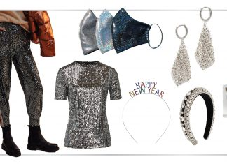 NYE looks different this year, but we're keeping the S-P-A-R-K-L-E. Let's manifest shine than w/ sequins. 4 easy New Year's Eve outfit add-ons.