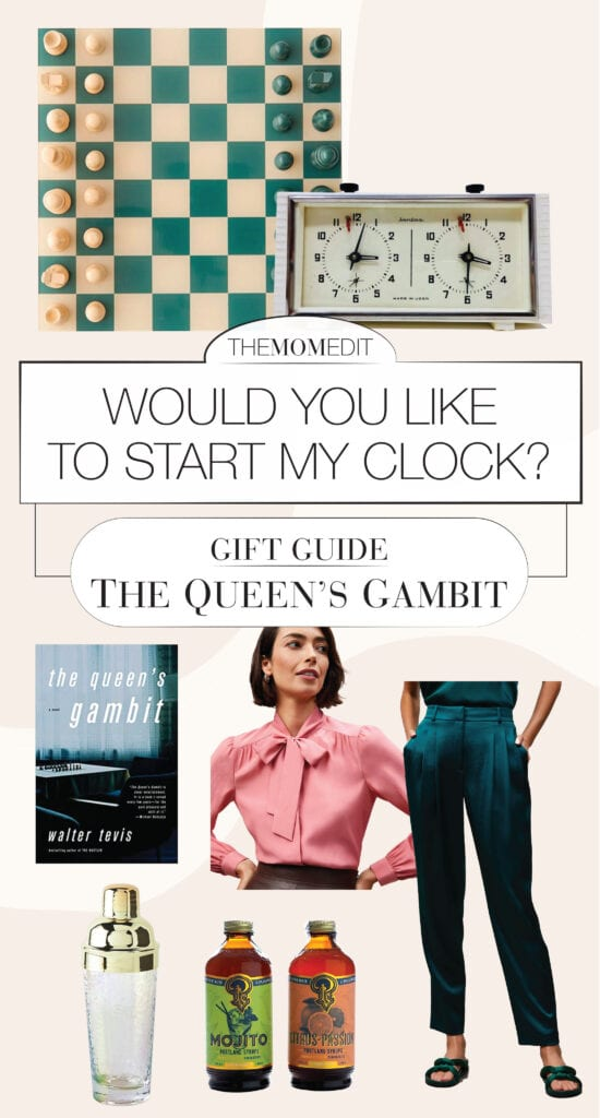 Team TME is obsessed with The Queen's Gambit. The wallpaper, the fashion — those chess moves. Gifts for all the Beth Harmon fans —in 1 guide.