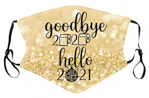 Oh, hey, 2021! We see you. We're done w/ #2020 memes & moving on to sparkly face masks, glitter balloons, party hats & champagne to celebrate NYE at home & virtually.