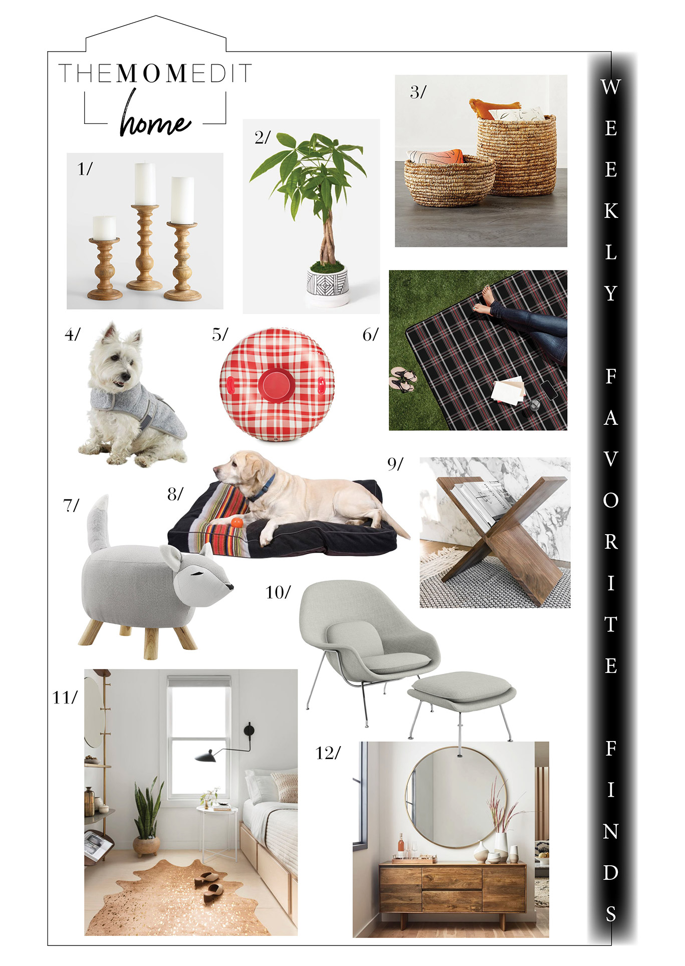 We're shopping little miracles for the home, plus post-holiday sales (Pottery Barn, West Elm, Crate & Barrel) & pining to dine at Extra Virgin.