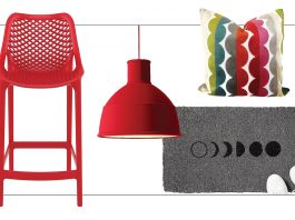 We're on to fun pops of color for accents like umbrella stands, pendants & pillows,+ sales at WIlliams Sonoma & PB. Jungalow's on our home decor list, too.