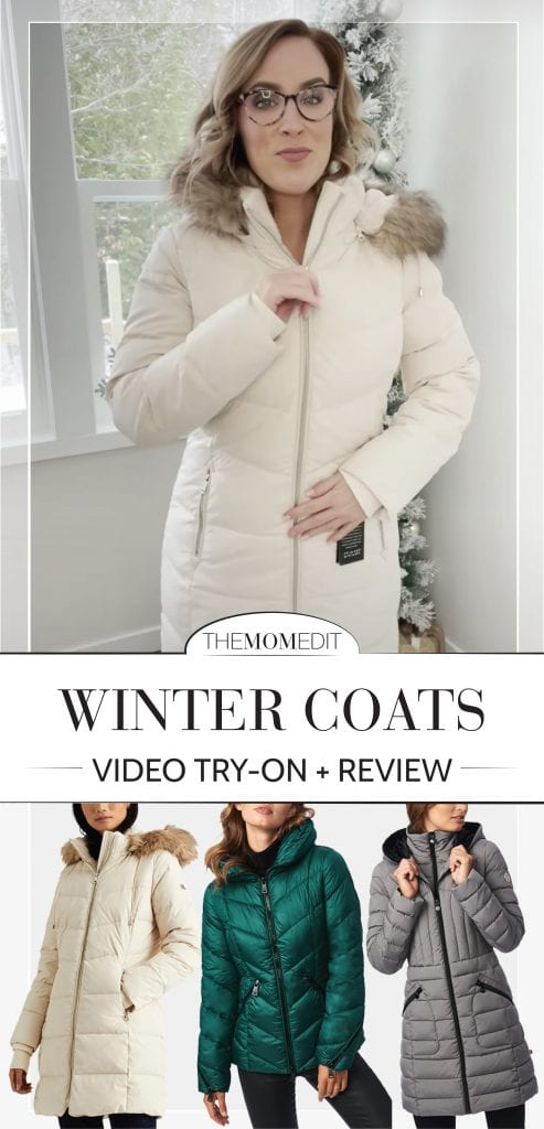 More time outside means warm winter coats (hooded & water-resistant) are a must. So we're reviewing cute puffers. Think Bernardo, Ralph Lauren & The North Face.
