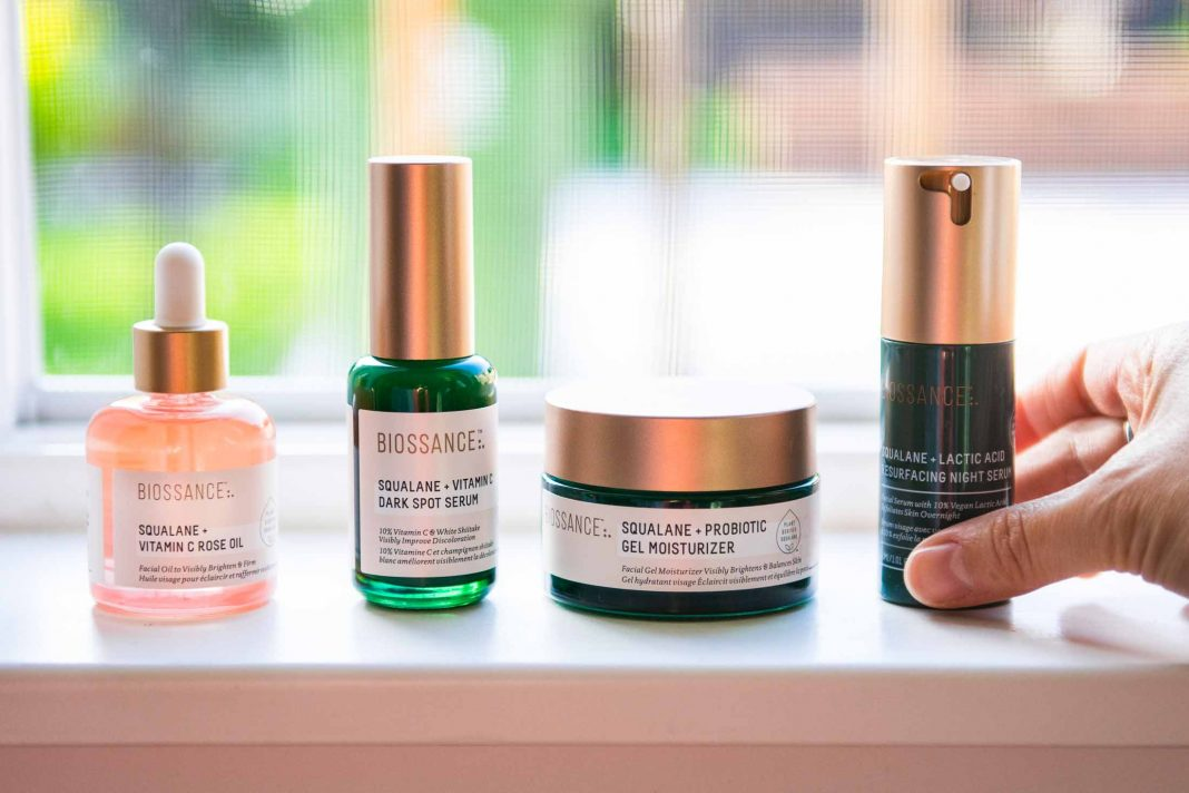 We're talking 4 Biossance skincare products that, focus on calming, brightening & revitalizing skin tone in this lovely era of daily mask-wearing.