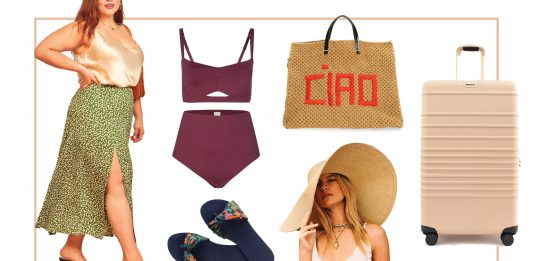 This capsule wardrobe is just what we're dreaming about to wear on a beach vacay. A bit sexy, a bit sophisticated, a bit sustainable & inclusive sizing.
