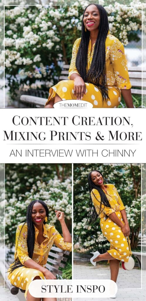 Chinny is a content creator & influencer who expresses her love for bold colors, vintage fashion, timeless silhouettes & gorg prints as Chiniluv. Come meet her.