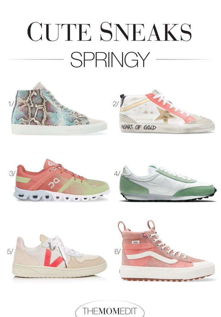 I love the challenge of pairing all the fun sneaks w/ unexpected preppy pieces or when the rocker-chic side comes out to play. It keeps things interesting