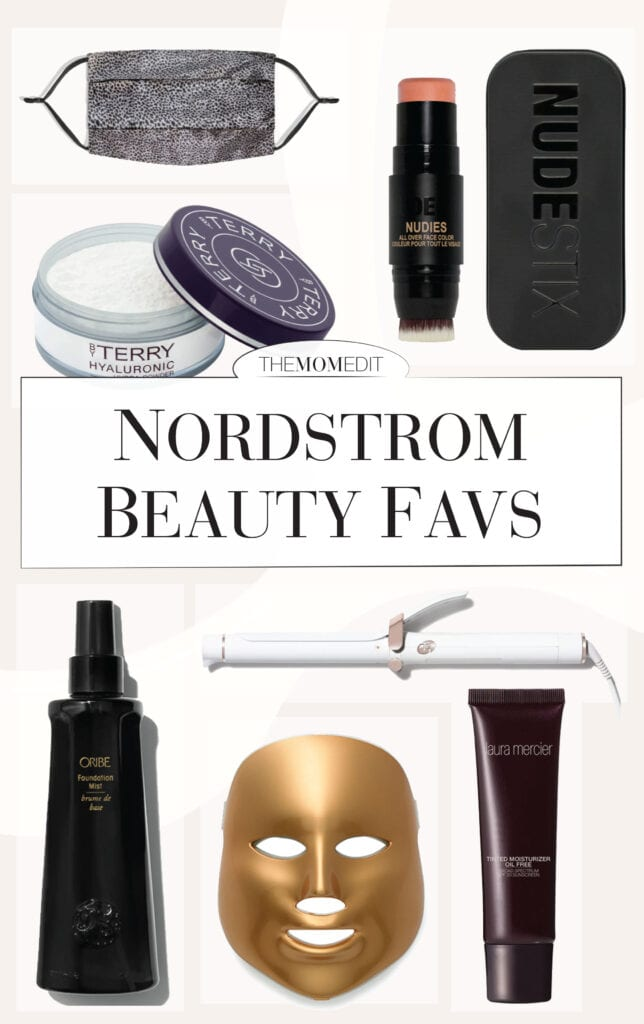 Looking at my face for hours on Zoom created (somewhat desperately) a renewed interest in makeup, skincare & hair products. Nordstrom has me covered.