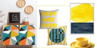 Illuminating Yellow is in fact bright, in a beautiful, almost unexpected, yet familiar way. Thus, a roundup of fun ways to add bright yellow pops to our home decor.