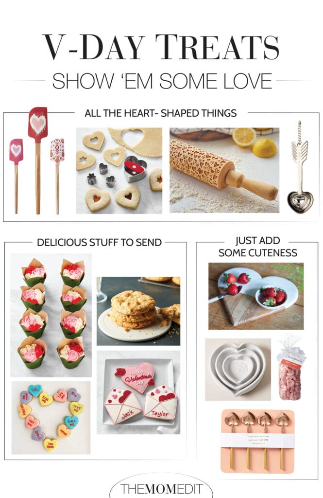For anyone who could use a sweet pick-me-up or Valentine's Day activity, go for DIY treats -- heart-shaped baking, mail-order goods & festive sprinkles.