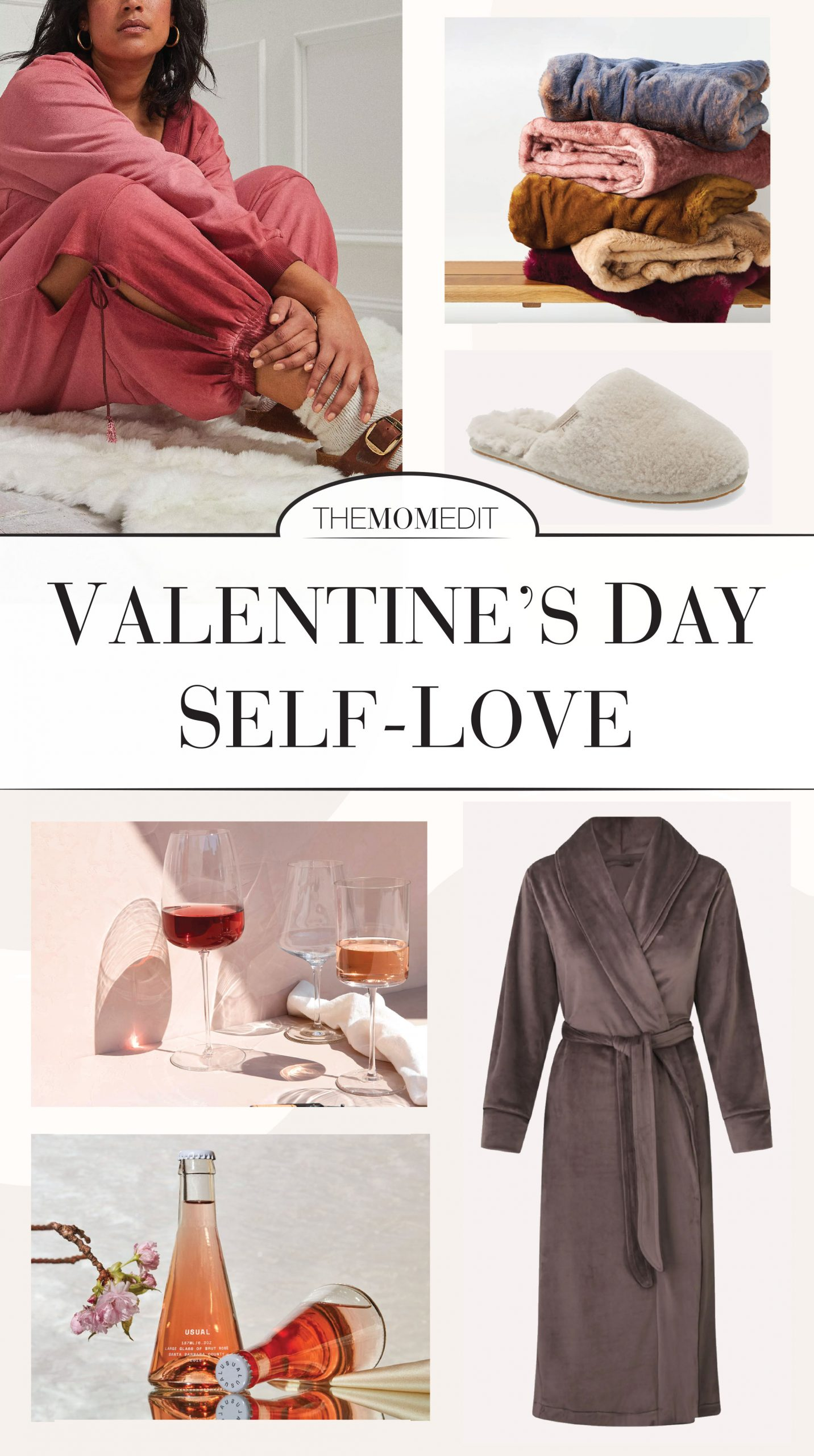 Take some time to love on yourself for Valentine's Day. We're thinking rom coms & wine, spa night, self-love...or maybe a workout? All the inspo you need, inside.