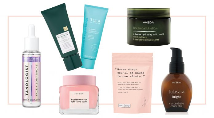 My winter self-care formula includes exfoliant & serums for each area (face, body & scalp) and some thick + heavy creams. If you're feeling oh-so-dry like me, I've got you!