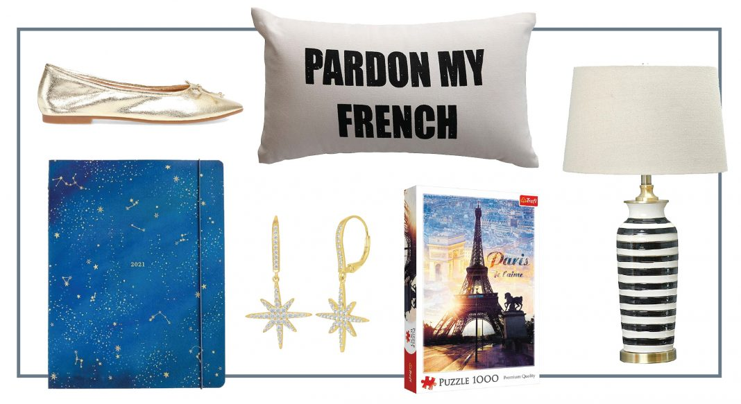 This gorgeous night sky Paper Source planner at Zulily inspired Midnight In Paris vibes we want to bring home: pretty & glam for travel dreaming.