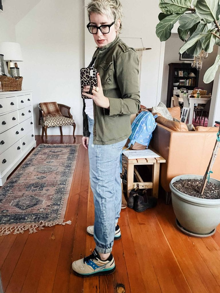 rag & bone faux jeans joggers sound too good to be true: joggers that look like jeans & feel like sweatpants. (Exactly what Stay-At-Home life needs.)
