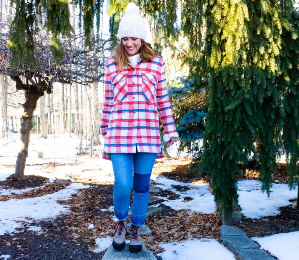 The plaid shirt jacket is a must-have layering piece in my closet this winter, the outfit game-changer that single-handedly revived my outerwear wardrobe.