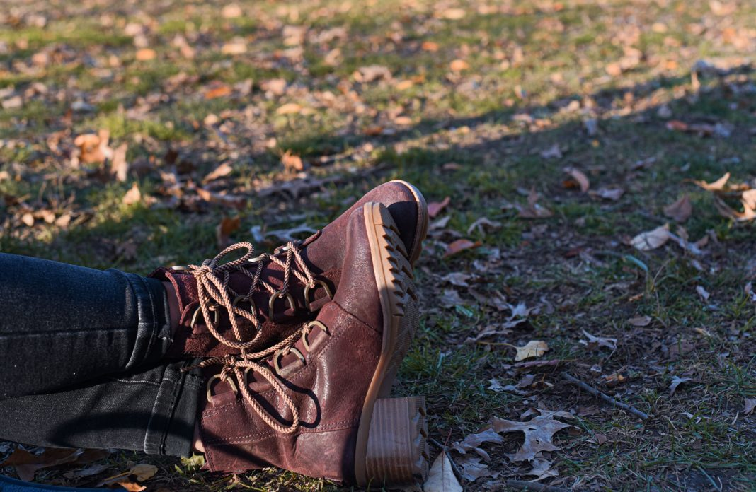 I love sneakers, but for this day walking in the city, I wore the waterproof Sorel Cate boots, to see if they'd pass the comfort test. Here's my review.