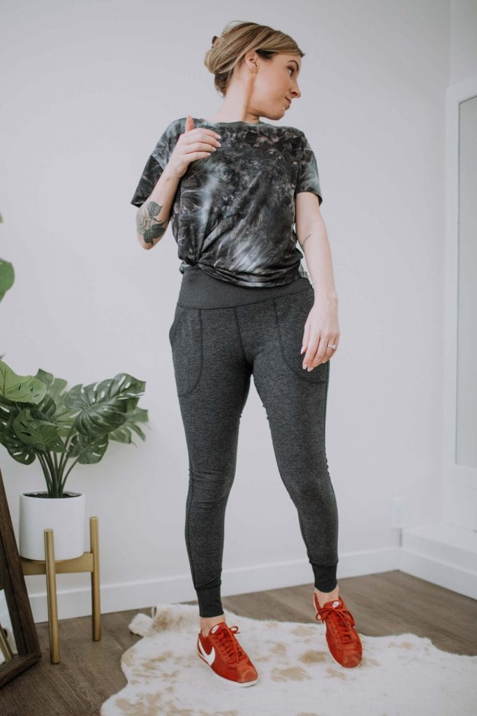 Zella is really good quality. Soft fabrics, cozy jackets, flattering fits -- the perfect go-to for tie-dye loungewear & cute, functional workout gear.