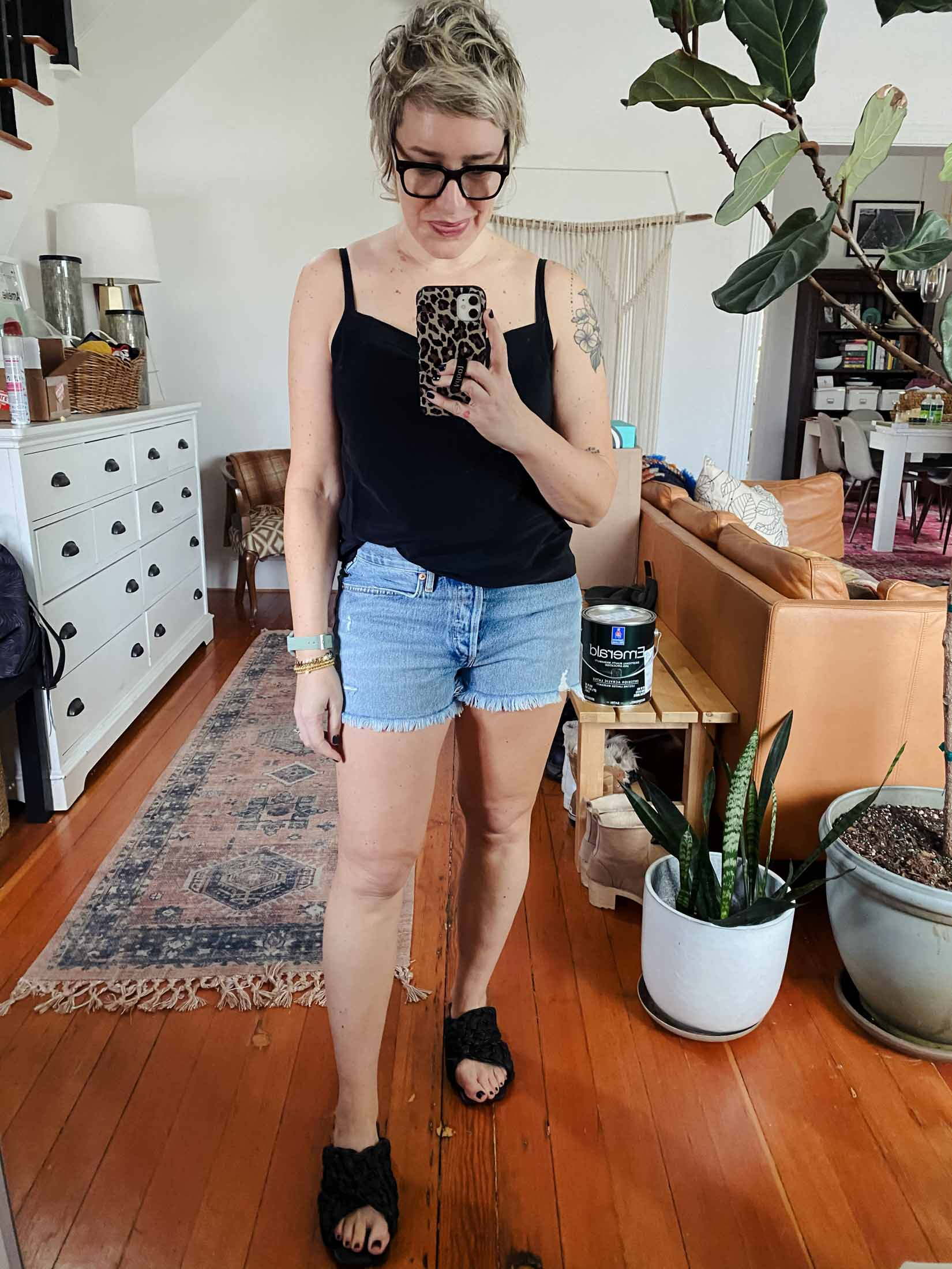 I don't often find a good pair of shorts, but the AGOLDE Parker Vintage cutoffs nail it. They're high waisted, sustainable AND have great washes. Totally worth it.