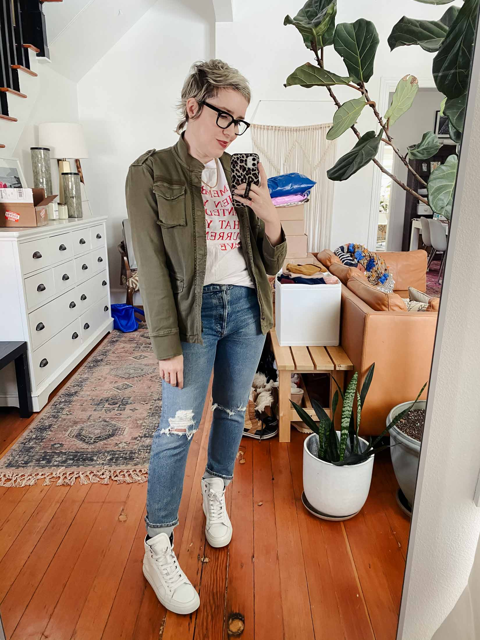 I always reach for my Anine Bing olive green utility jacket when putting together outfits. The fit, the feel, the details, the versatility -- but is worth the price?