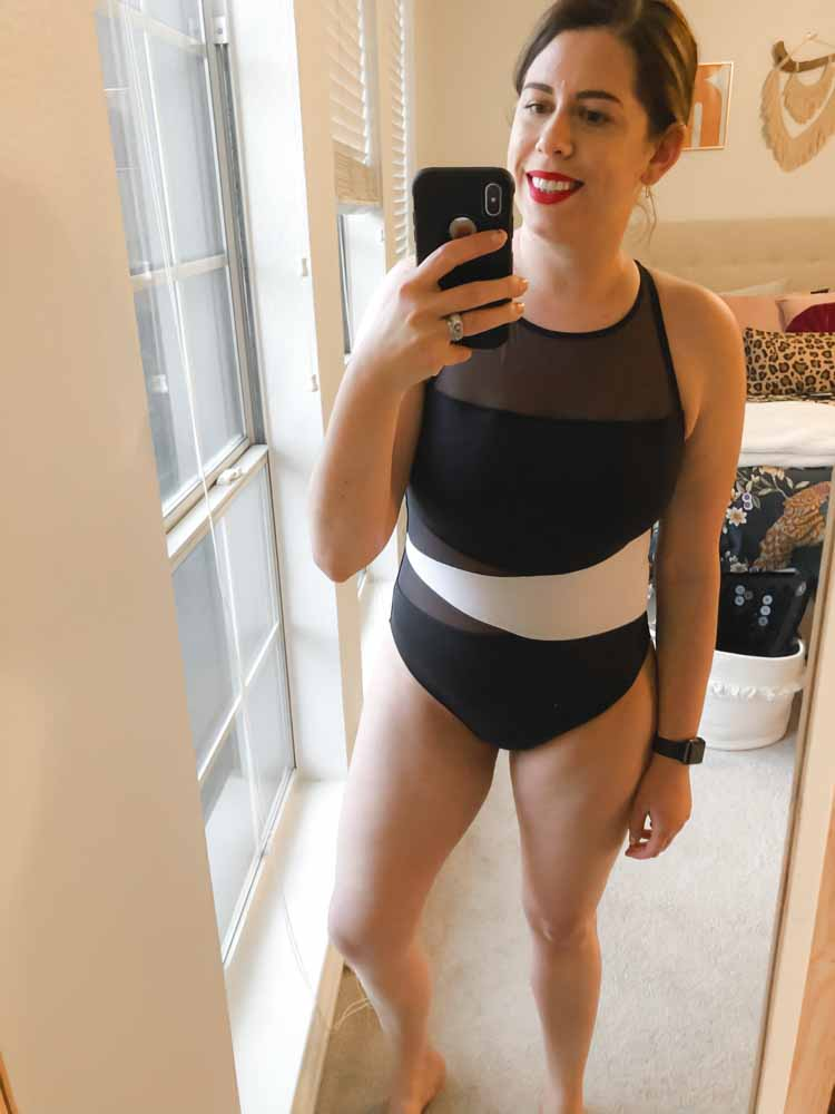 I don't want to be that mom who waves off swimming w/ her kids b/c she doesn't want to don a swimsuit, but I also want to feel good in my postpartum body.