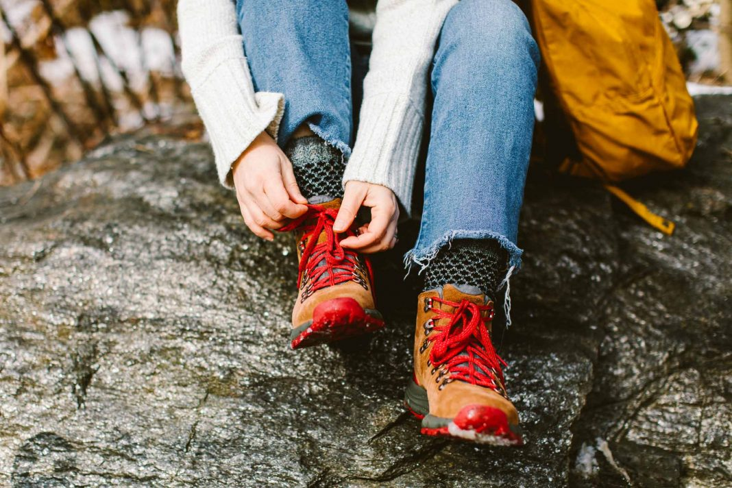 As soon as I slipped my foot into the lighter-weight, SUPER-comfortable, SUPER-cute Danner Mountain 600 Hiking Boots, I knew they were the ones.
