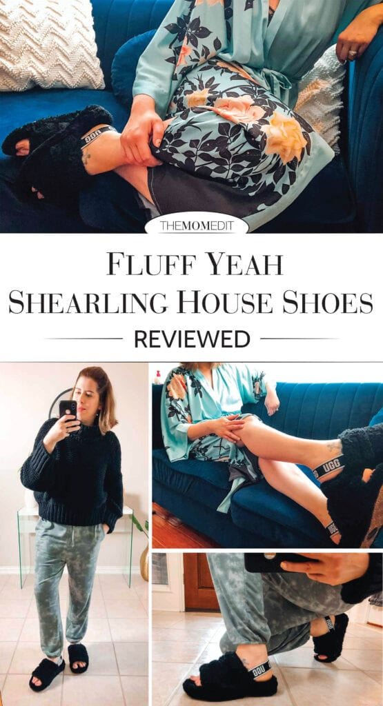 UGG Fluff Yeahs are THE moment. They're durable, water-repellent, breathable & allow us to emit Betty Draper vibes for the ultimate stay at home style.