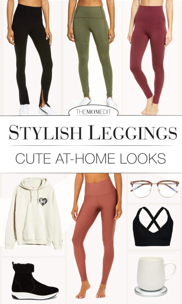 Maybe our fav leggings could use some reimagining -- to make things more interesting & fun (hah!) at home. Comfort + style....Why not?