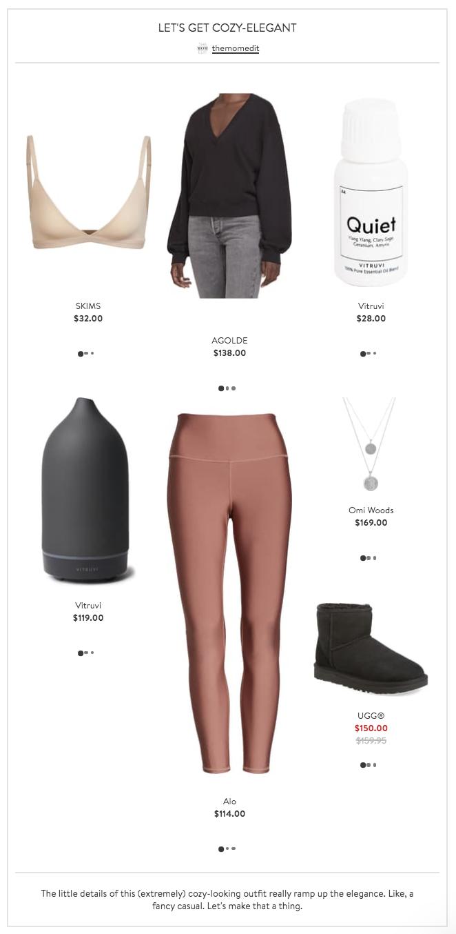 Let's Get Cozy Elegant Nordstrom Looks