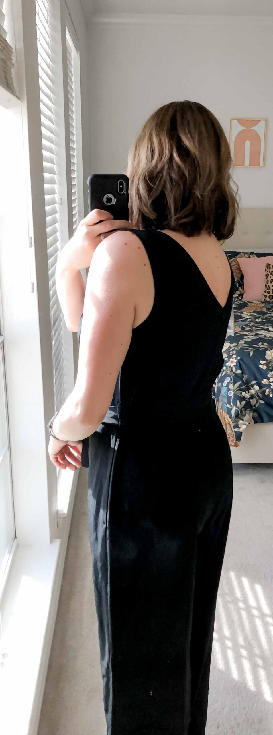 """The Everlane Japanese GoWeave Essential Jumpsuit is freakin' fabulous.  It hits all my requirements for a """"keeper jumpsuit."""" Pockets. Normal bra...."""