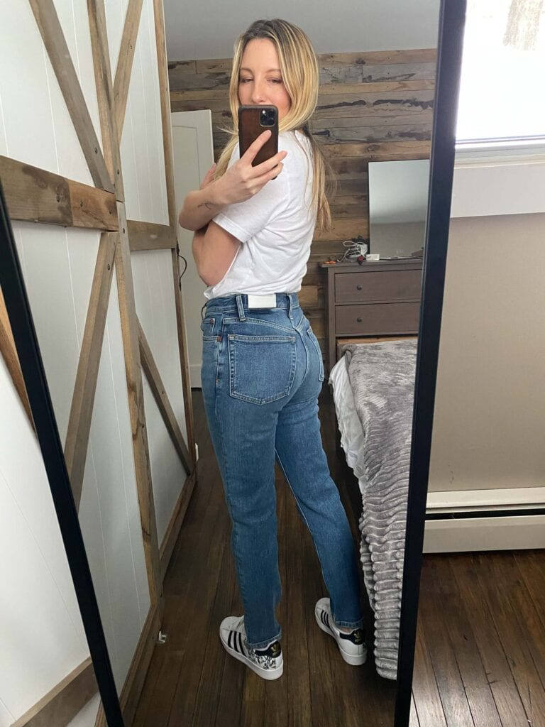 "I'm searching for seriously comfy denim....jeans I won't want to rip, screaming, from my body as I collapse on the floor, sweatpants cradled in my arms, whisper-crying, ""I'll never leave you again...."""