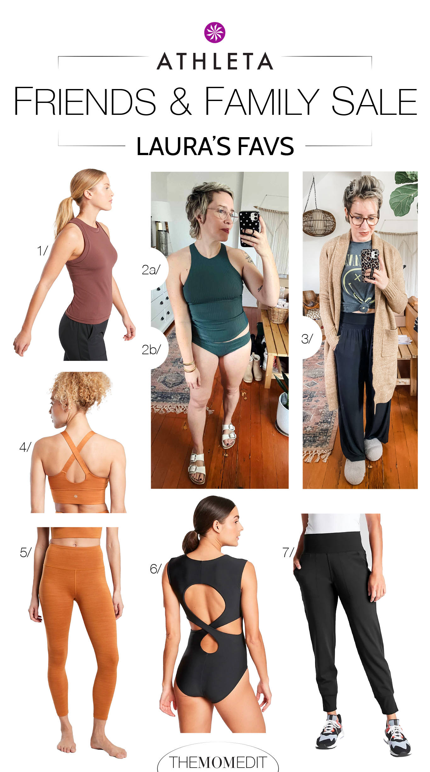 Athleta's a team TME fav for activewear & athleisure. Cute joggers, wide-leg pants, flattering swimsuits...plus, they're a B-Corp. Check out our top editor picks!