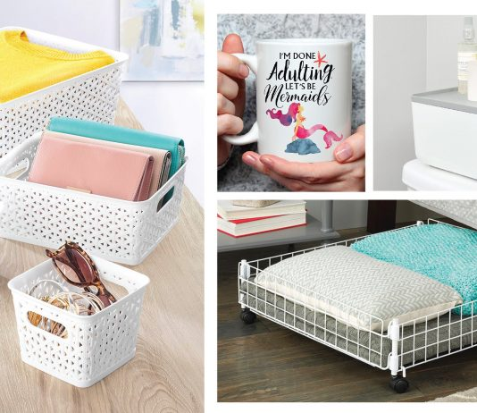 """Spring is always a motivator to do a little household refresh & organization of """"all the things"""" & Zulily also has some cool organizational problem-solvers."""