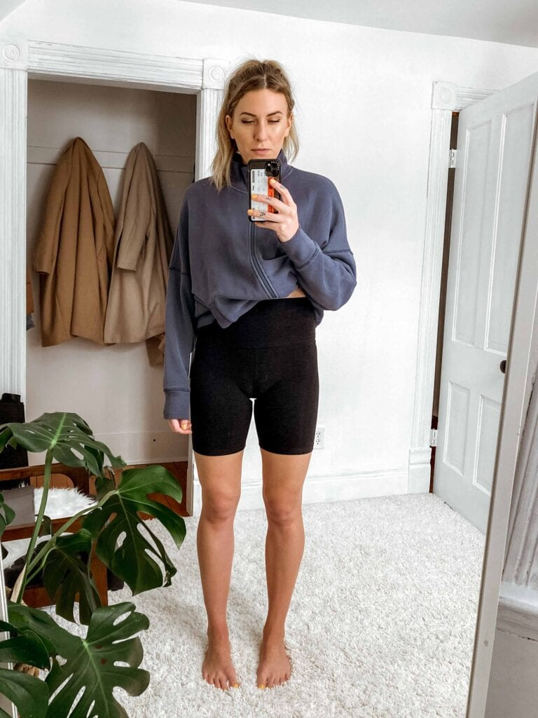 Bike shorts are just as essential to my own wardrobe as a fav pair of leggings. I love the look of them,+ they're just the most comfortable thing to wear in summer, ever.