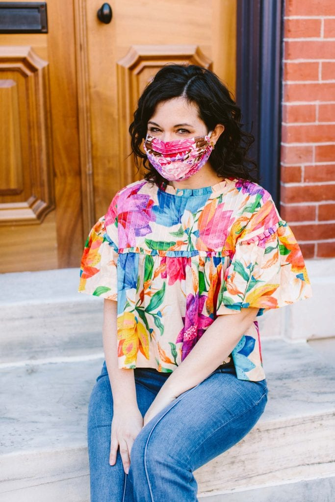 """I don't always go for expensive, gorg tops, but I'm searching for something special this spring. It's ABSOLUTELY time to break out an """"I-Feel-Pretty"""" outfit."""