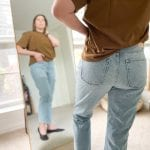 """When Everlane raved that the '90s Cheeky Straight Jean was back in stock, we said """"OK, sign us up."""" So we tried all 3 styles. Review inside."""