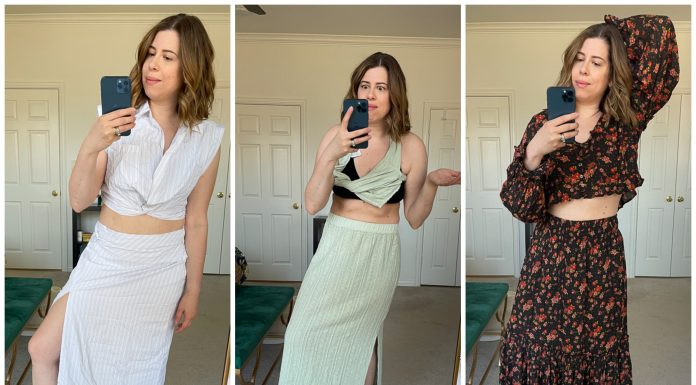 """We're checking out Free People matching sets that look secretly comfy. Warning: it's not loungewear. Here's the scoop on 6 (somewhat) """"dressy"""" sets."""