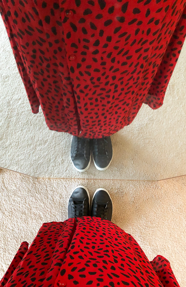 From sleek, lightweight sneakers to chunkier soles & patterns, sneakers w/ dresses +  jumpsuits look so cool we may consider breaking up w/ heels for good.
