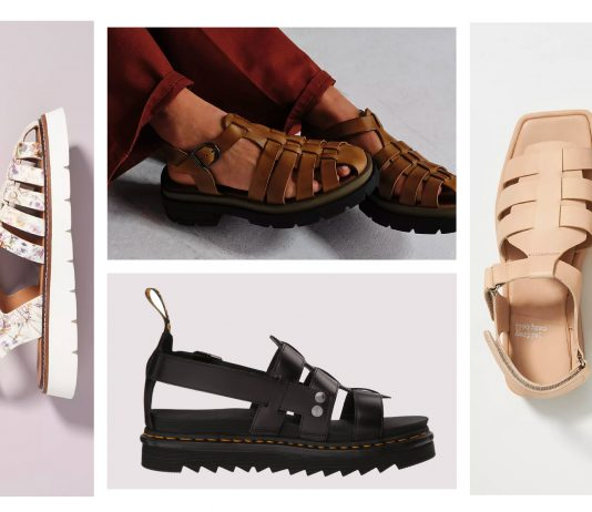 "Dubbed everything from ""the new dad shoe trend"" to ""the ugly shoe trend"" & a cause for hiking sandals to ""move over,"" cute Fisherman sandals are right on-trend."