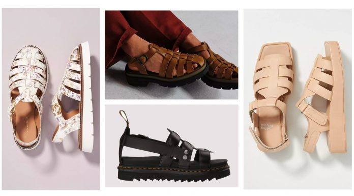 """Dubbed everything from """"the new dad shoe trend"""" to """"the ugly shoe trend"""" & a cause for hiking sandals to """"move over,"""" cute Fisherman sandals are right on-trend."""
