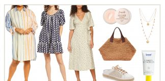 This weather calls for pretty florals, girly silhouettes, natural textures, & a lovely dose of color. Dresses serve as the easiest do-it-all outfits for spring & summer.