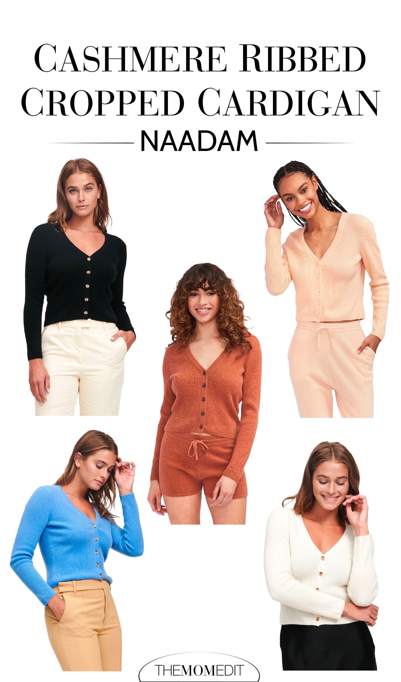 High-quality, flattering & versatile, the Naadam Cashmere Cropped Cardigan is in our forever closet & on nonstop rotation. Here are 3 reasons we love it.