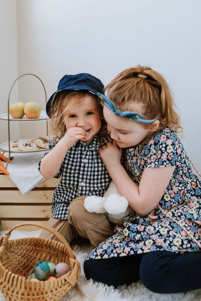 We love buying cute kids' outfits + accessories, keeping it to well-made, quality items they'll wear again & again. Carter's is a great go-to for kids' clothes.