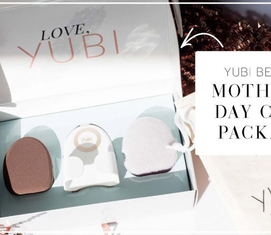 The perfect Mother's Day gift is here. We're LOVING this makeup brush from Yubi Beauty. Think: smooth, airbrushed finish without patchiness