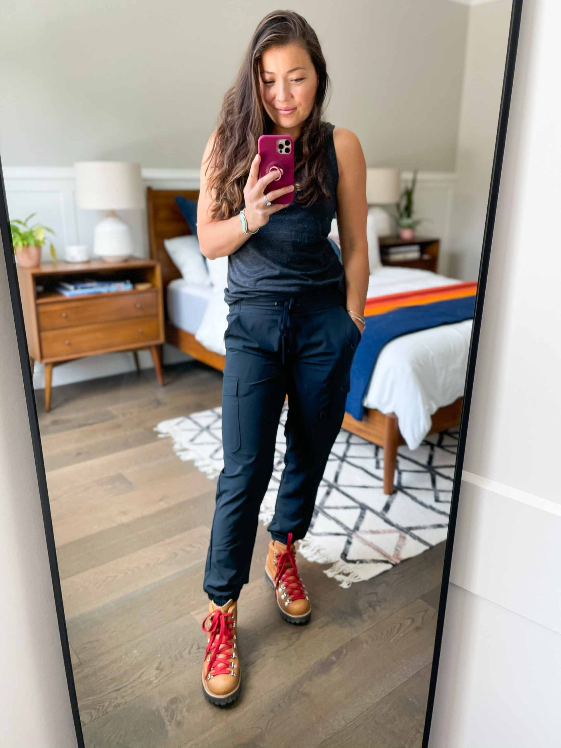 We're talking cute hiking outfit pieces that are comfortable, perform, travel well & actually look good. Think: Danner boots.