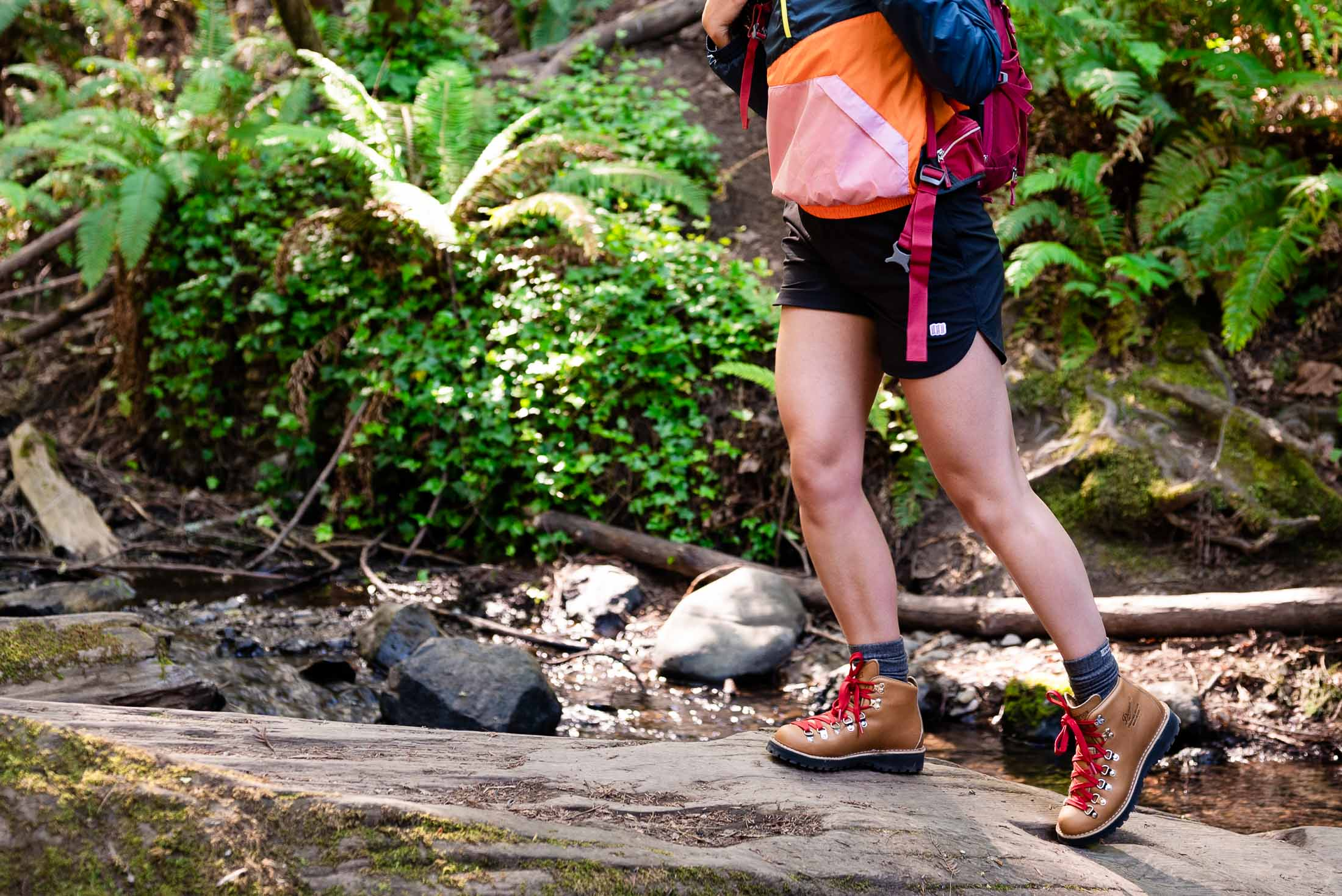 Flattering high-rise hiking shorts, waterproof Danner boots, a lightweight jacket...we've found a cute women's hiking outfit that's totally worth it.