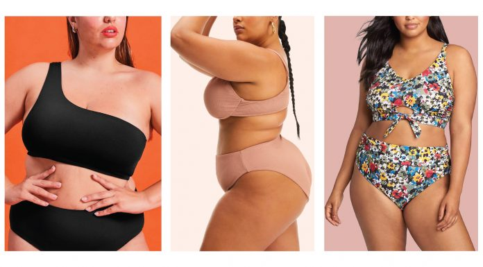 From sustainable one-shoulder tops to ultra high-rise, cheeky bikini bottoms, these are my top 10 plus-size bikinis for Hot Girl Summer.