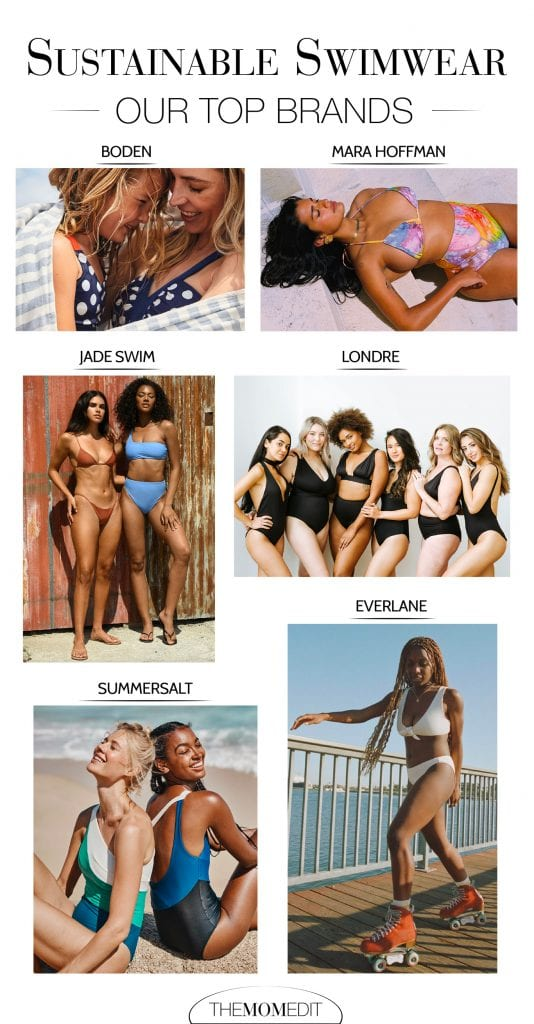 Our mix of 1-piece swimsuits + bikinis, suits w/ plunging v-necks & cheeky bottoms. Think: our fav sustainable swimwear brands (oh hey, Mara Hoffman) to new friends like Jade Swim + Londre.