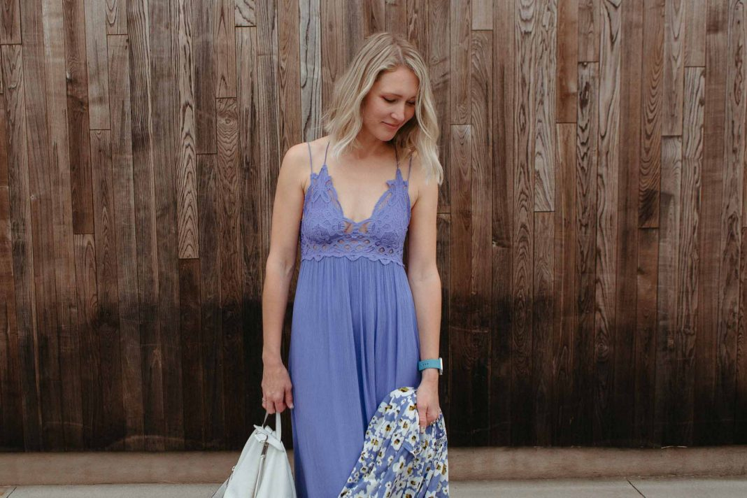 We were thrilled after Free People debuted the Adella Dress, a slip-style maxi dress with the Adella bra as the
