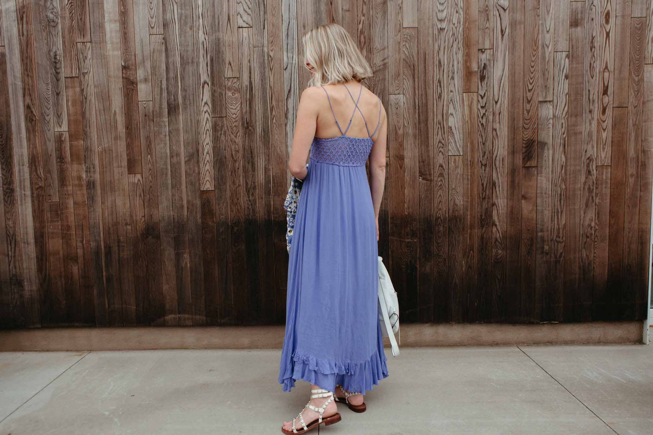 """We were thrilled after Free People debuted the Adella Dress, a slip-style maxi dress with the Adella bra as the """"frontrunner.""""...And we're still obsessed."""